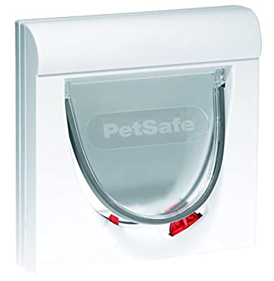 PetSafe Staywell Classic Magnetic Cat Flap, 4-Way Locking Pet Door