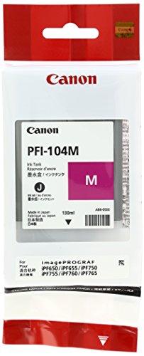 Canon PFI-104M Cartouche d'encre d'origine Magenta