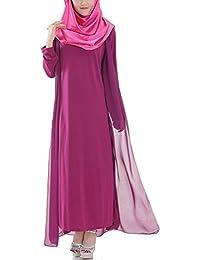 hibote túnicas árabes musulmanes las mujeres oriente medio vestido de gasa de ...