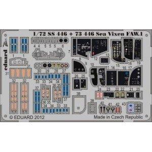Eduard - Eduard - SS446 - Kit Transformation Sea Vixen Faw.1 Int.Sa for Cyber Hobby - 1:48