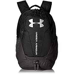 Under Armour UA Hustle 3.0 Mochila, Unisex Adulto, Negro (001), One Size
