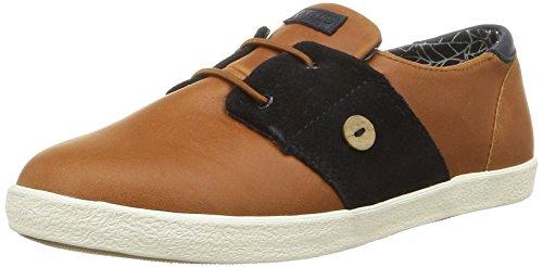 Faguo Cypressl32, Sneaker modalità Unisex bambino, marrone (Marron (004 Tawny/Navy)), 34