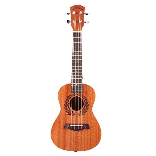 QLJ08 Ukulele da concerto 23 pollici 4 corde Sapele mini chitarra Uku chitarra acustica Ukelele mogano