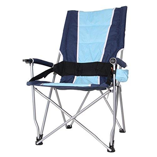 LDFN Tragbare Klappstühle Außenstühle High Back Lässig Skizzieren Angeln Grill Strandkörbe,Blue-57*42*102cm/1.87*1.38*3.35ft