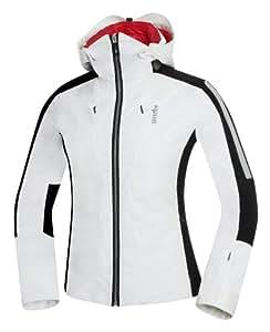 zero rh+ Trinity Veste de ski pour femme Blanc Blanc/Noir s