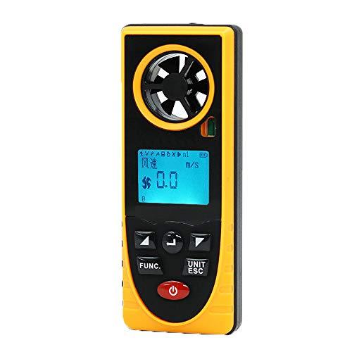Anemómetro digital de mano Medidor de temperatura del viento Medidor de temperatura Medidor de viento...