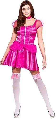 (Darling Princess (short) Ladies Fancy Dress Costume Halloween)