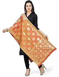 [Sponsored]Rani Saahiba Art Silk Zari Woven Dupatta/Stole - B079Y3BMNY