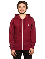 Element Herren Hoodie Sweater Kapuzenpullover Sweatjacke Kapuzen Sweatshirt, Pullover mit Reissverschluss, stylischer einfarbiger Zip Hoodie, Cornell