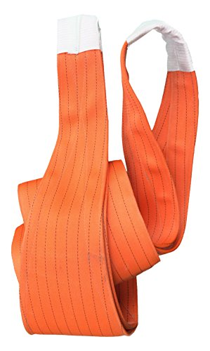 Lifting Sicherheit amz1022574 Polyester Flach Web Sling, 20.0t Working Load Limit, EFL 4 m Länge (Sling Polyester)