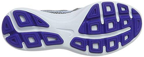 Nike 819303, Scarpe da Ginnastica Basse Donna Multicolore (Wolf Grey / Aluminum / Black / Blue Tint)