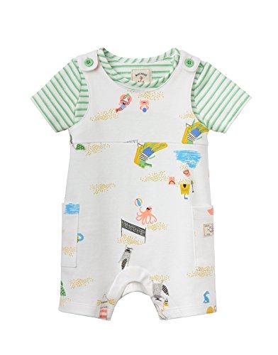 Joules Jersey Latzhose und T-Shirt Set - Strand - 3-6 months / 68 cms
