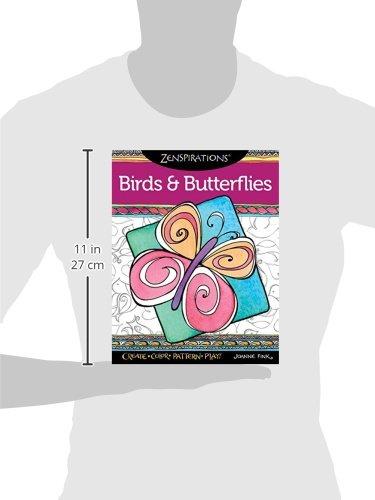 Zenspirations Coloring Book Birds & Butterflies