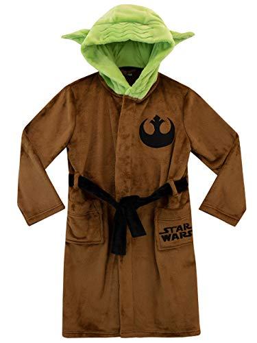 Star Wars - Bata para niños - Yoda - Marrón - 8-9 Años