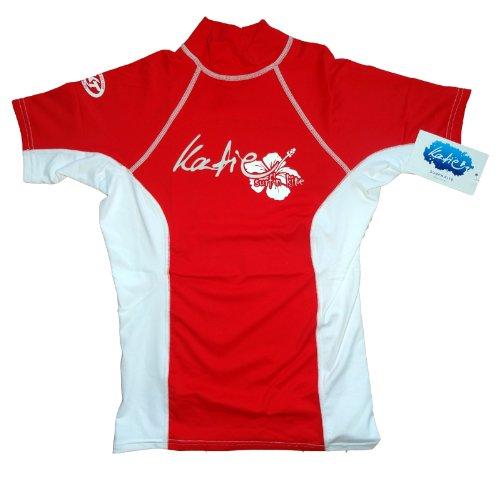 Katie surf ´n kite Rashguard Spandex UV-Shirt Damen kurzarm UPF 50+ Sonnenschutz