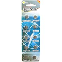 Eunicell AG9 Alkaline Brand Batteries 1.5 V Type: Flat Pack of 10