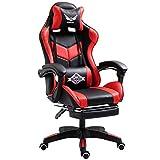FULANTE Chaise d'ordinateur, Chaise de Bureau à Domicile Chaise de Jeu E-Sport inclinable, Chaise de Bureau Ergonomique Racing, Chaise d'ordinateur, Dossier, Chaise de Levage