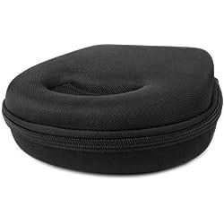 Etui housse rigide de rangement et de transport pour casque audio Parrot Zik 2.0 Bluetooth by Philippe Starck - couleur noir, par DURAGADGET