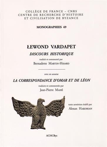Discours historique avec en annexe La correspondance d'Omar et de Léon