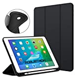 Robustrion Smart Flexible Trifold Flip Stand Case Cover with Pencil Holder iPad 9.7