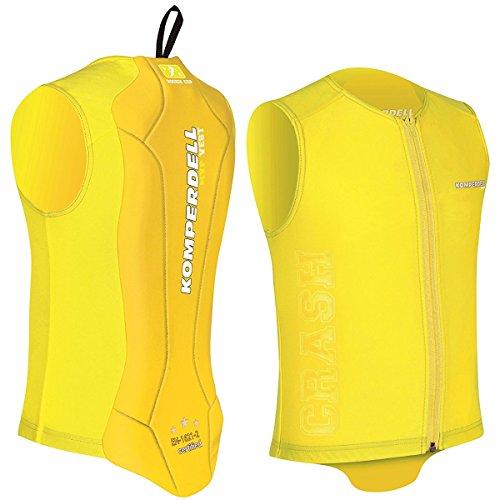 Komperdell Eco Junior Protector Vest Ski Snowboard Motorrad Rückenprotektor yellow