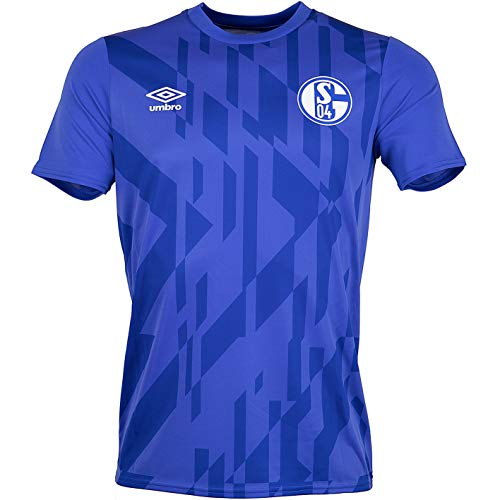 FC Schalke 04 Umbro Aufwärm Warm up Trikot (XL, blau)