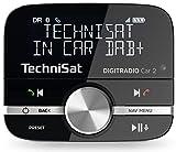 TechniSat DIGITRADIO Car 2 DAB+ Adapter zum Aufrüsten von Auto-Radios, FM-Transmitter für DAB+ Sender mit Bluetooth und Freisprecheinrichtung mit Wireless Controller