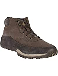Woodland Men's Leather Boots-(GB 2579117D)