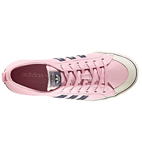 Adidas Nizza Rosa. Scarpe da Ginnastica per Donna. Cesto della Sneaker Wonder Pink/Trace Blue