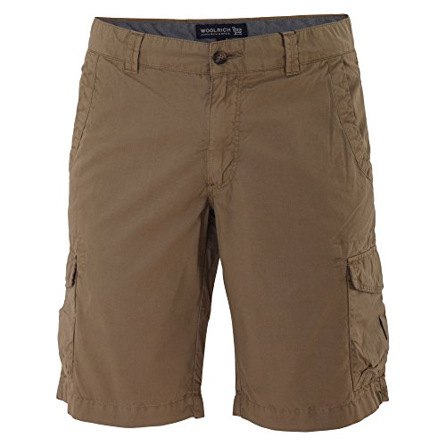 woolrich-hombre-wosho0383ri027257-marron-algodon-shorts
