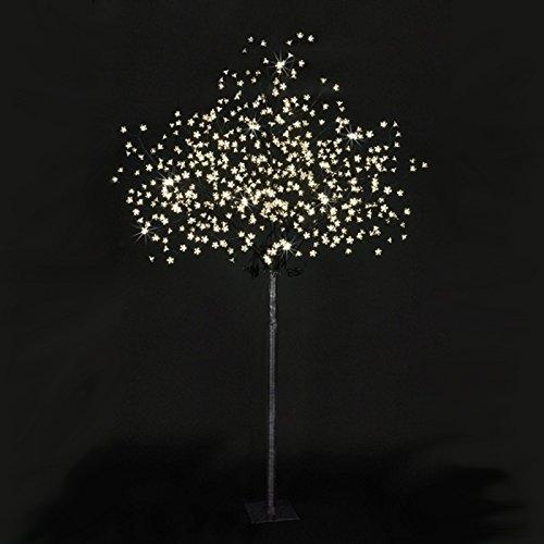 LED Baum Lichterbaum Beleuchtung 600LEDs 2,5m