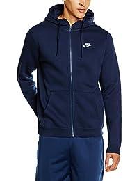 Nike M NSW Hoodie FZ FLC Club Sweat, homme