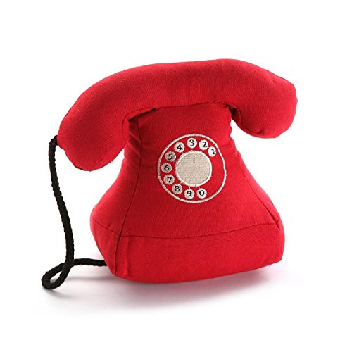 Versa - Sujetapuertas Telefono rojo
