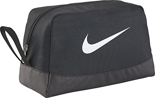 Nike Club Team Swoosh Toiletry Bag Trousse de toilette, 27 cm, Noir (White)