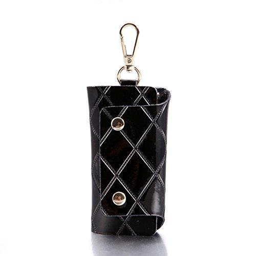 Moda diamante Plaid vernice semplice chiave/ Versione coreana di pulsante di blocco-F A