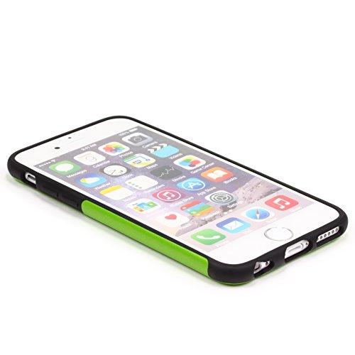URCOVER Coque de Protection Ultra Mince Apple iPhone 6 6s | Cover Back Case Rigide Élégante en Rose | Housse Arrìere Bumper Antichoc Édition Élégance Vert