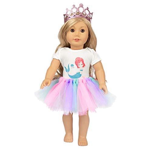 �r Spielzeug Süß Tutu Rock Kleider Mantel Mädchen  Spielzeug  Für Grils ()