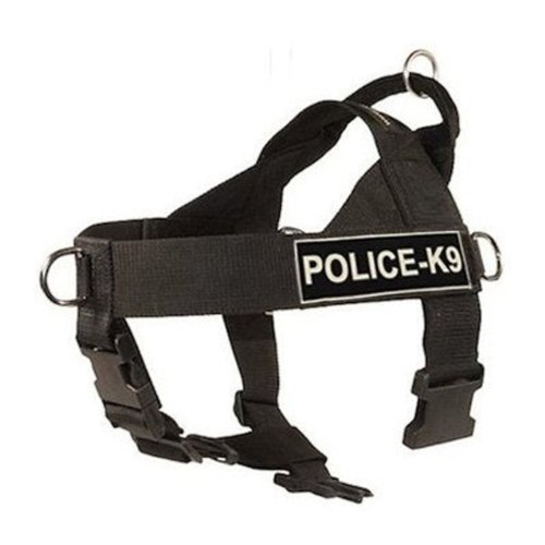 DT-Universal-No-Pull-Dog-Harness-Police-K9-Black-Large-Fits-Girth-Size-79cm-to-107cm