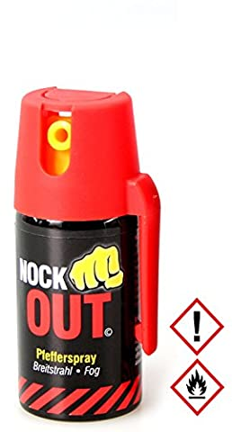 "SDG Pfefferspray ""Nock Out"", 40 ml, Breitstrahl"