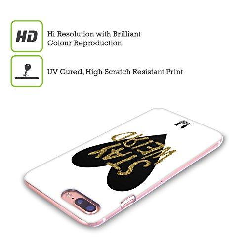 Head Case Designs Nebulosa Stay Weird Cover Retro Rigida per Apple iPhone X Glitter Stampato