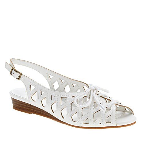 Easy Street Tinker Femmes Large Synthétique Sandale white