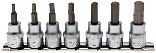 Preisvergleich Produktbild BGS Biteinsatz-Set, Innen-6-kant, 10 (3/8), 7-teilig, 1 Stück, 5104
