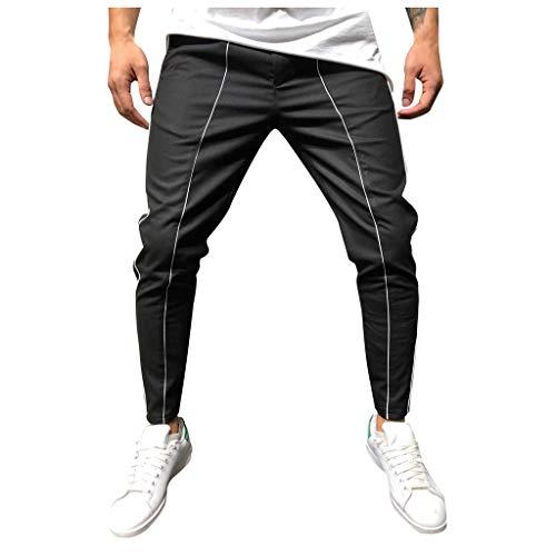 Pantaloni Uomo Trekking,Momoxi Tuta da Uomo A Doppio Strato con Cerniera Tuta da Lavoro Casual Pantaloni Sportivi da Lavoro