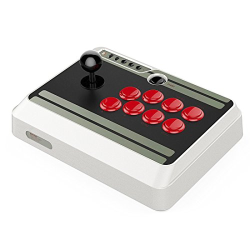 QUMOX NES30 Arcade Stick für Nintendo Switch, PC, Mac, Android - Nintendo Switch -
