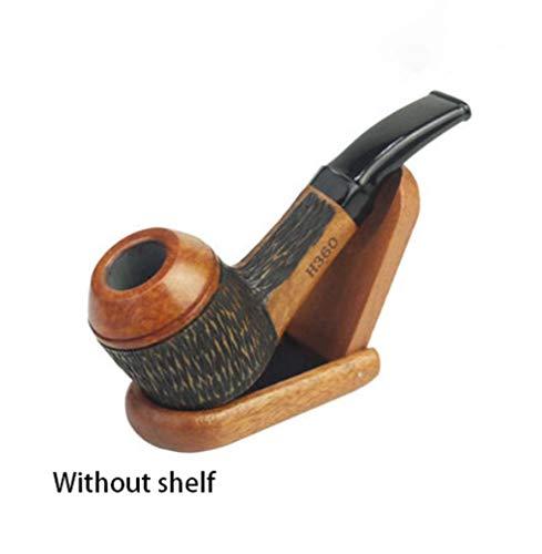 Zwq&zj Handgemachte abnehmbare Pfeife, Herren Smoking, 9mm Aktivkohlefilter Tabakpfeife
