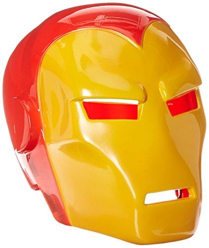 Rubie 's Offizielles Rubie 's Offizielles Marvel Iron Man Maske Erwachsene Kostüm–EINE (Offizielle Iron Kostüm Man)