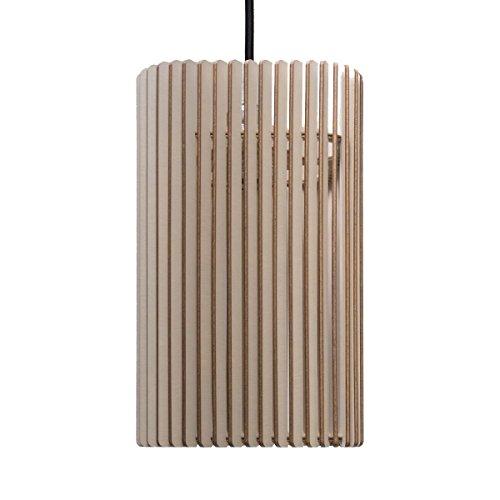 Suspension Columna - Suspension en bois - Suspension contemporaine - plusieurs couleurs disponibles taupe