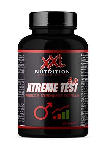 XXL Nutrition Xtreme Test | Hardcore Testo Booster | 90 Kapseln