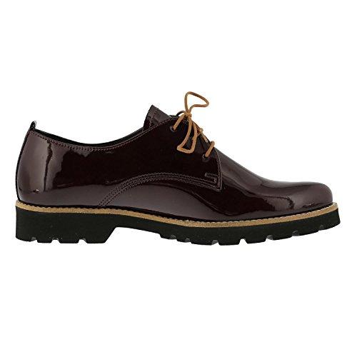 Gabor  52-545-93, Chaussures de ville à lacets pour femme rouge Rot 52 Rouge