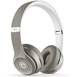 [Inalámbrico] Beats Solo2 Luxe Edition - Auriculares de diadema abiertos, color blanco